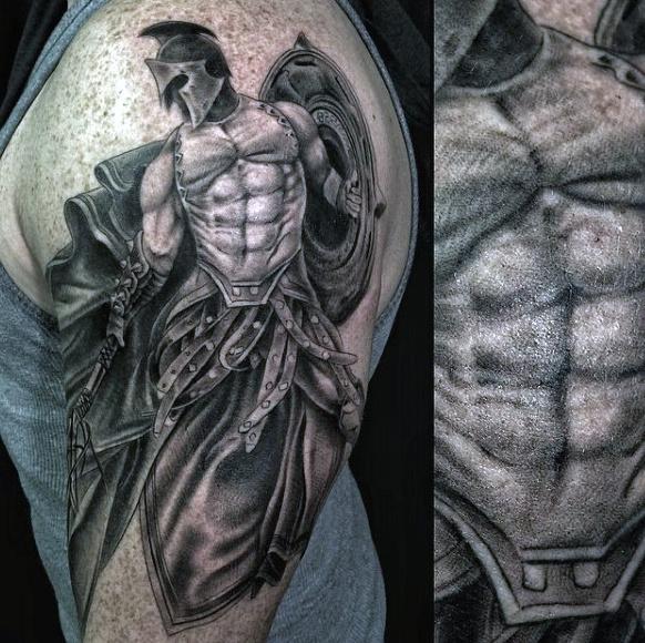 warrior tattoos photo - 21