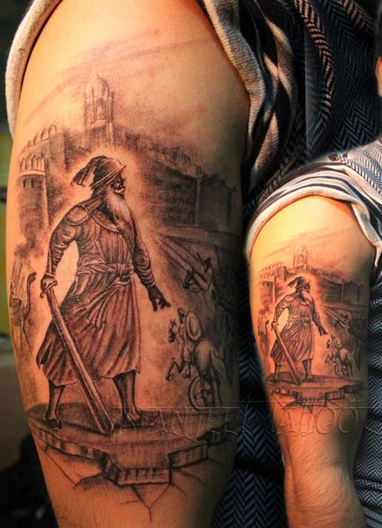 warrior tattoos photo - 22