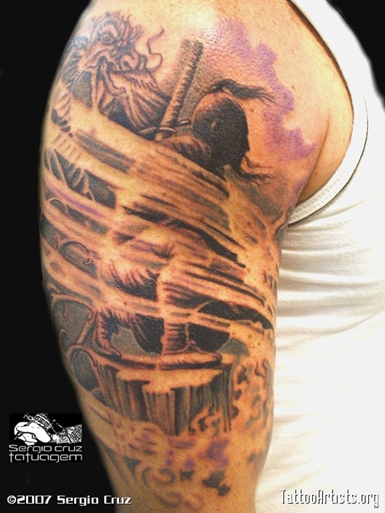 warrior tattoos photo - 24