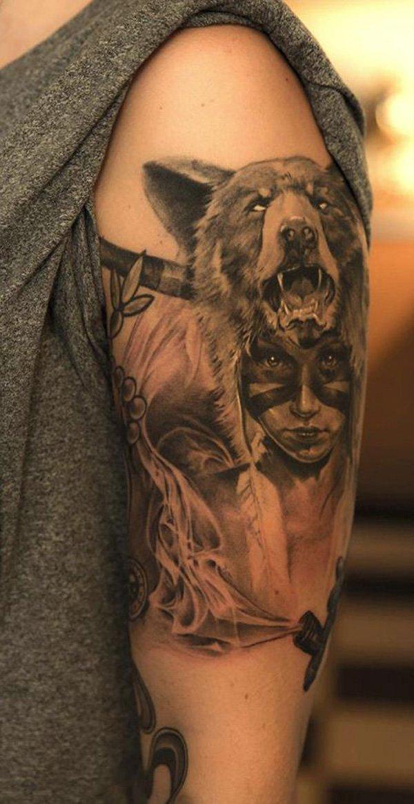 warrior tattoos photo - 26