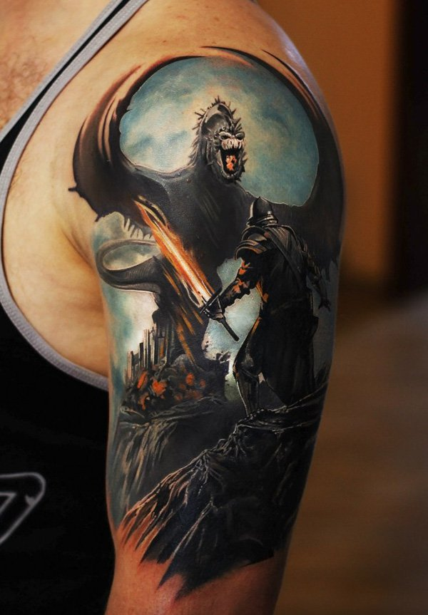 warrior tattoos photo - 27