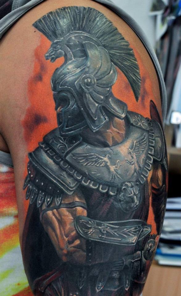warrior tattoos photo - 31
