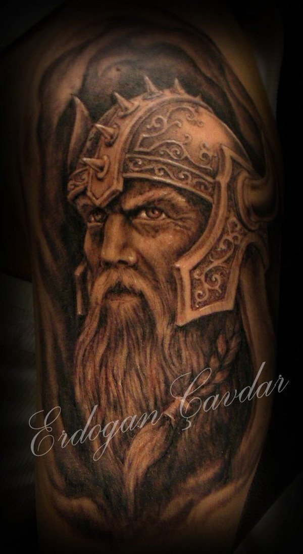 warrior tattoos photo - 32