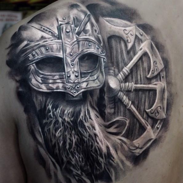 warrior tattoos photo - 33