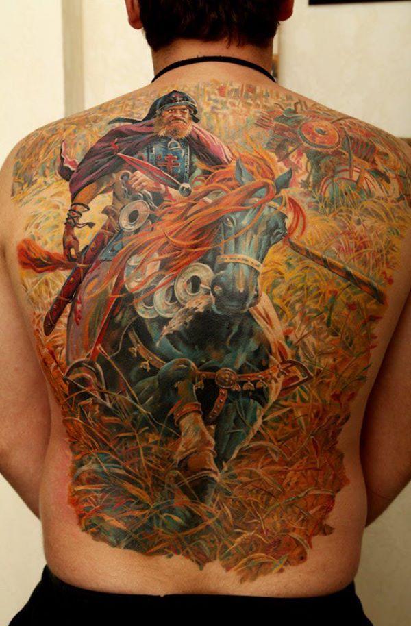 warrior tattoos photo - 34
