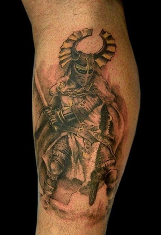 warrior tattoos photo - 5