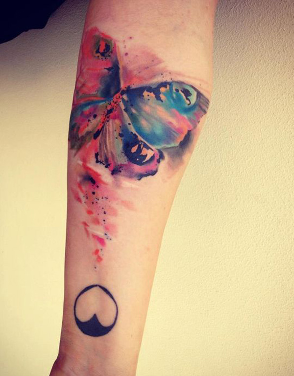 watercolor tattoos photo - 10