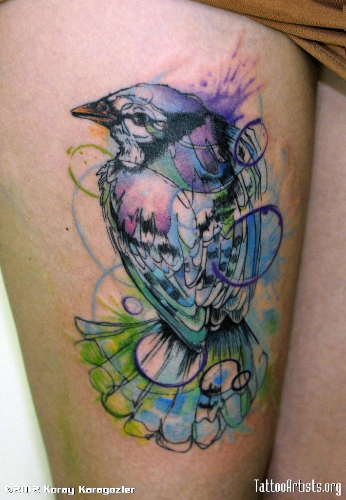 watercolor tattoos photo - 17