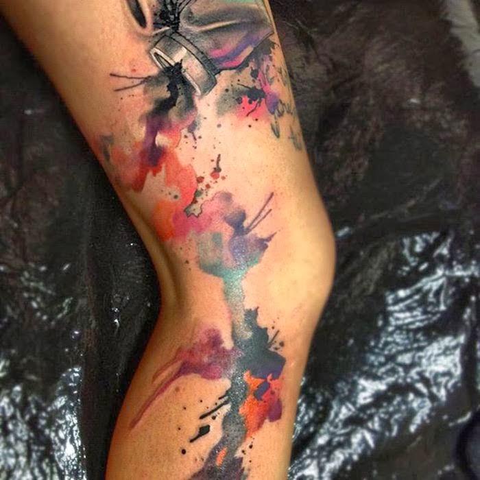 watercolor tattoos photo - 2