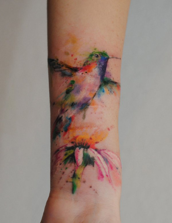 watercolor tattoos photo - 22