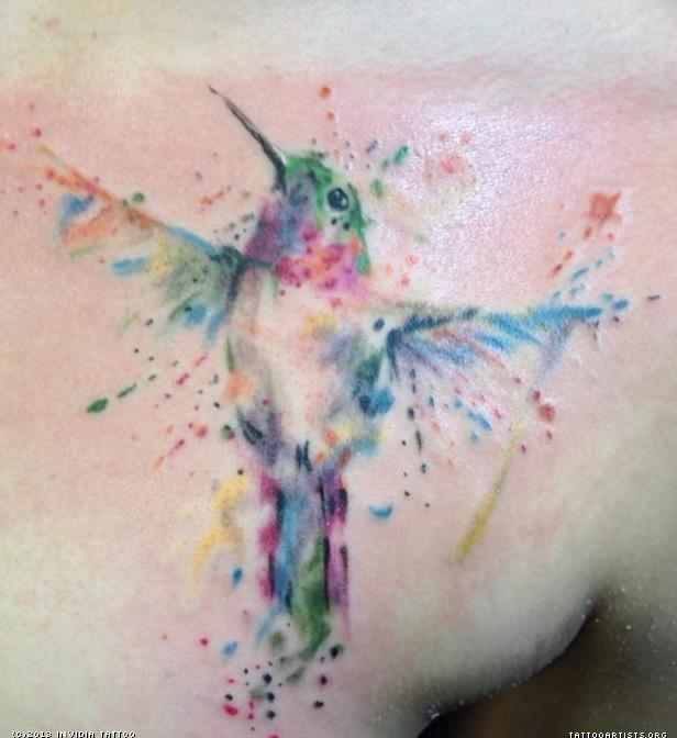 watercolor tattoos photo - 23