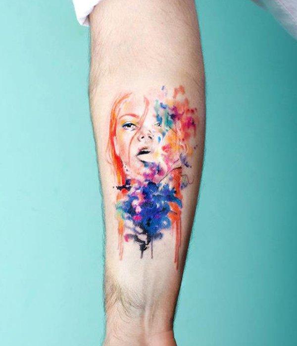 watercolor tattoos photo - 24