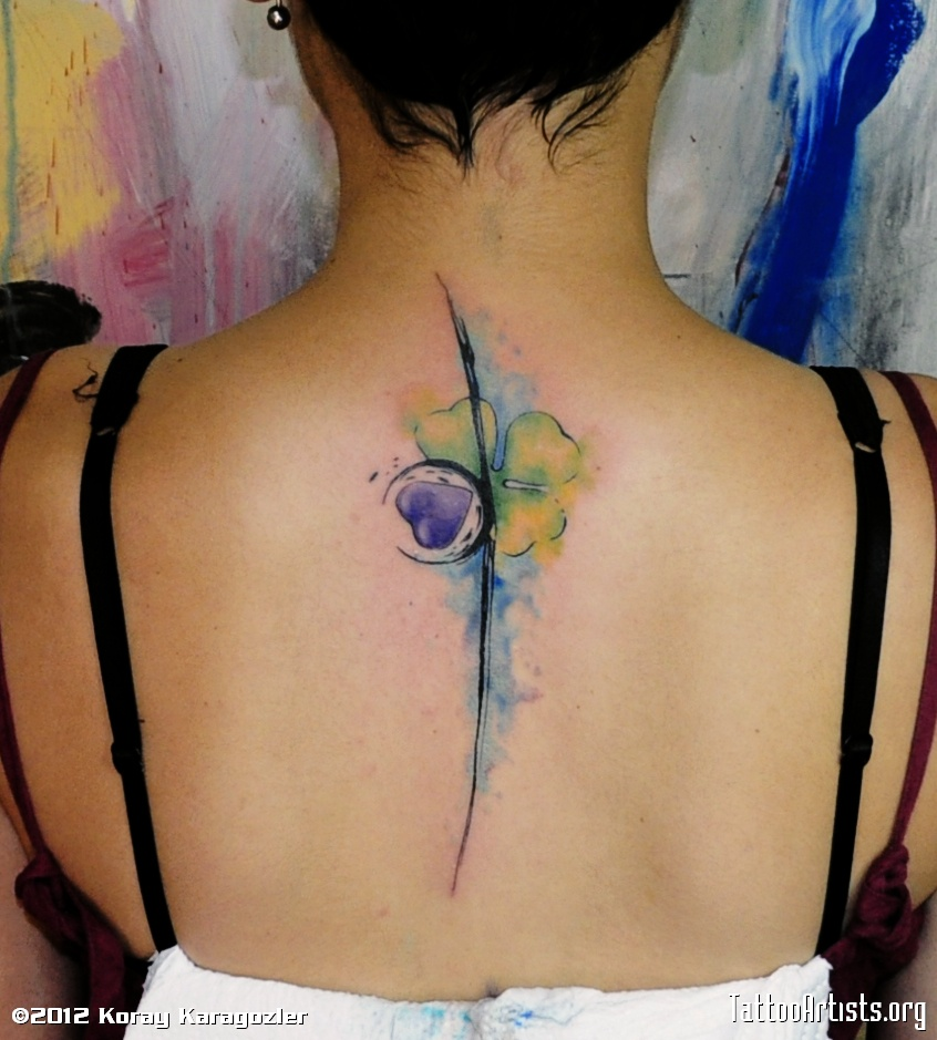 watercolor tattoos photo - 26