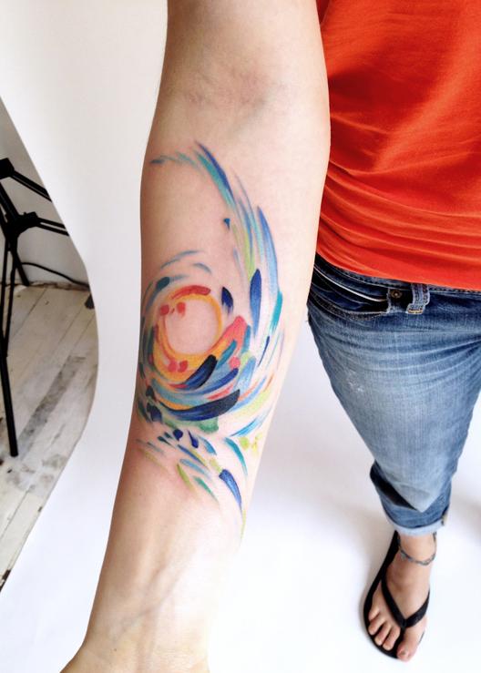 watercolor tattoos photo - 30