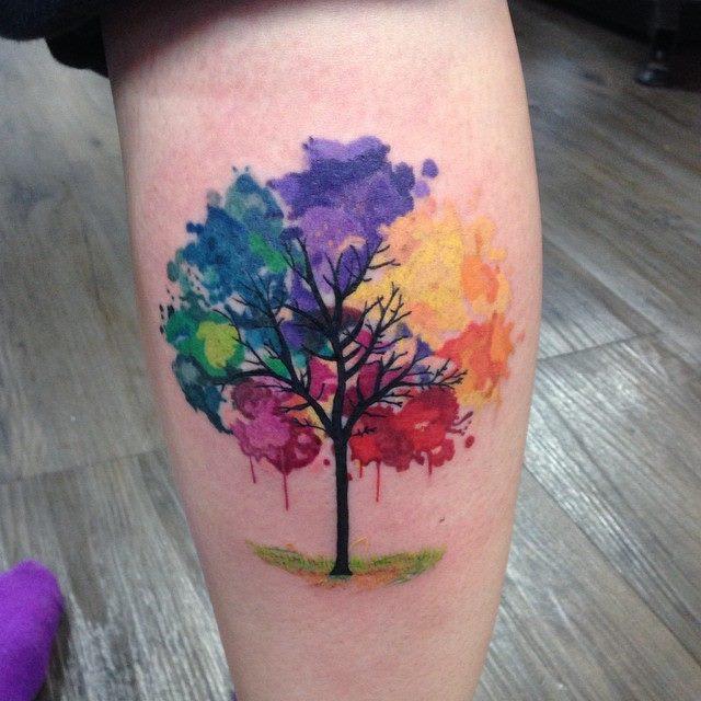 watercolor tattoos photo - 33