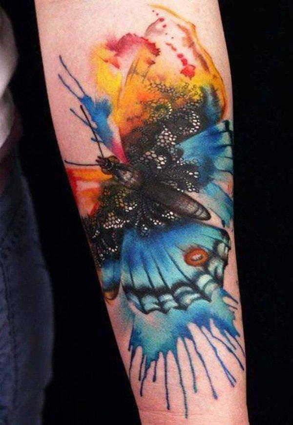 watercolor tattoos photo - 42