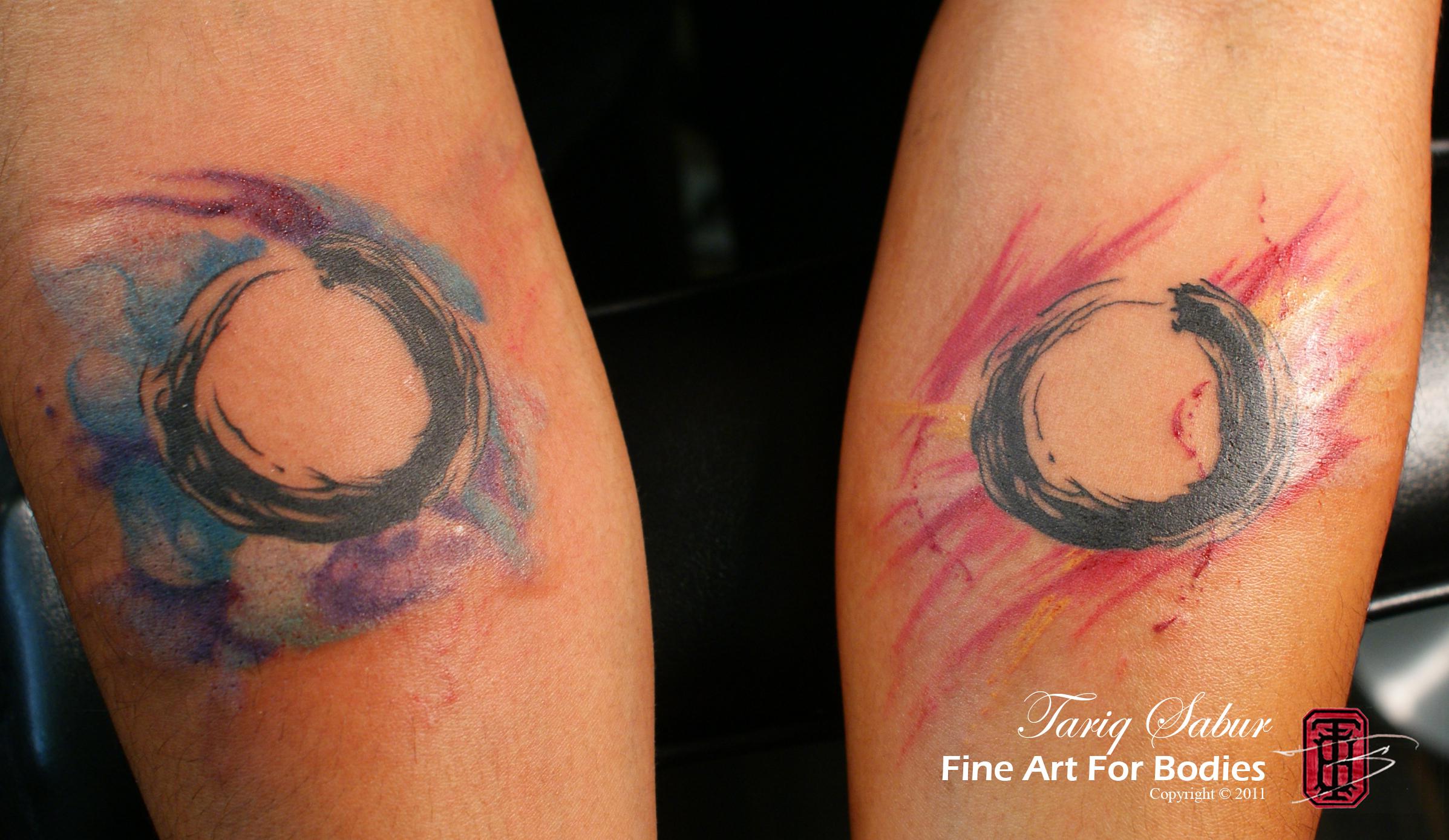 watercolor tattoos photo - 46