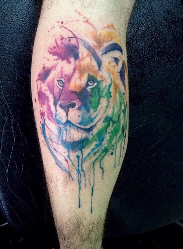 watercolor tattoos photo - 7