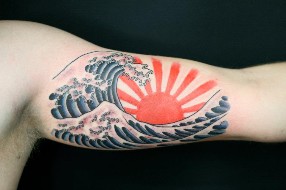 waves tattoos photo - 24