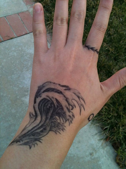 waves tattoos photo - 9