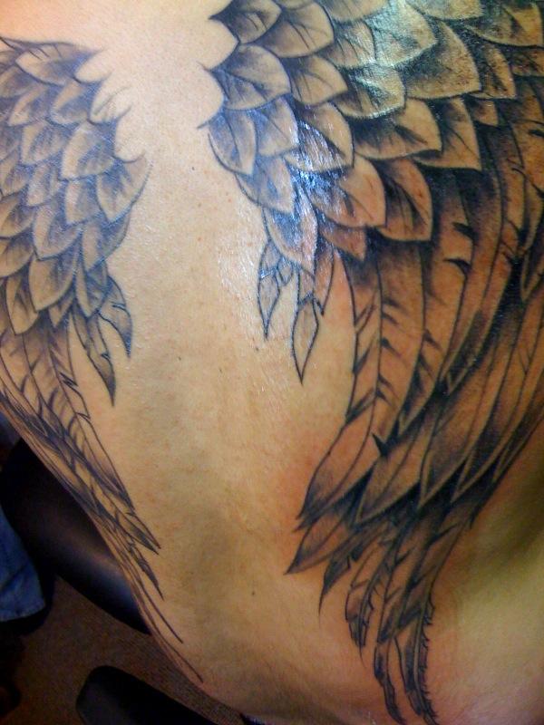 wings tattoos photo - 1