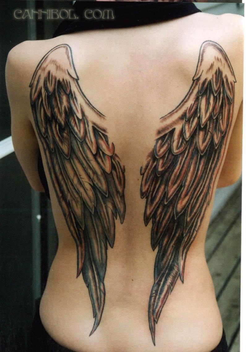 wings tattoos photo - 10