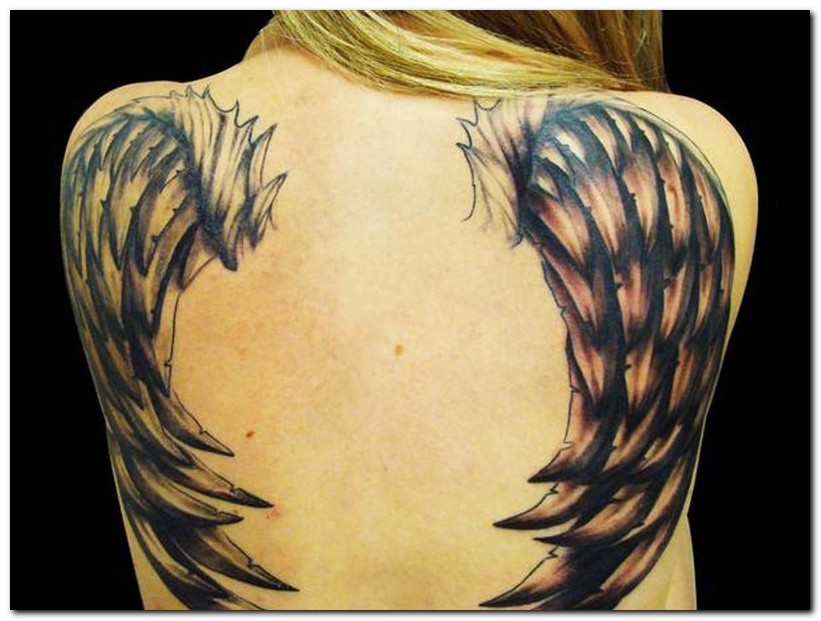 wings tattoos photo - 11