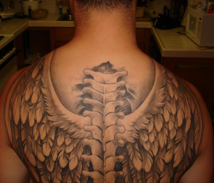 wings tattoos photo - 17