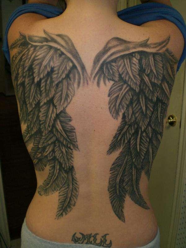wings tattoos photo - 2