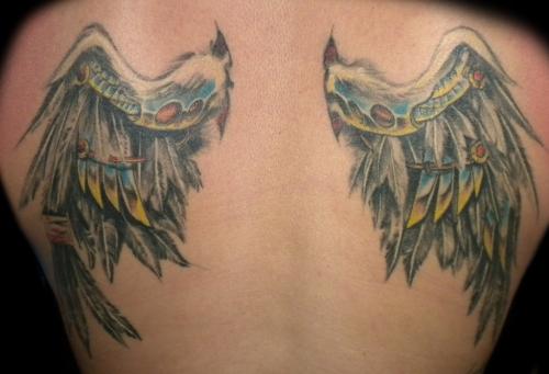 wings tattoos photo - 21