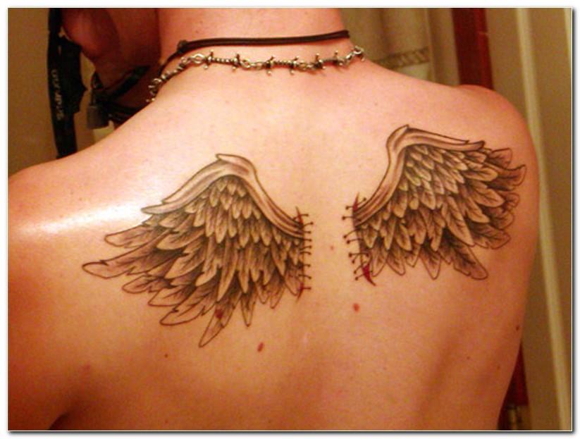 wings tattoos photo - 22