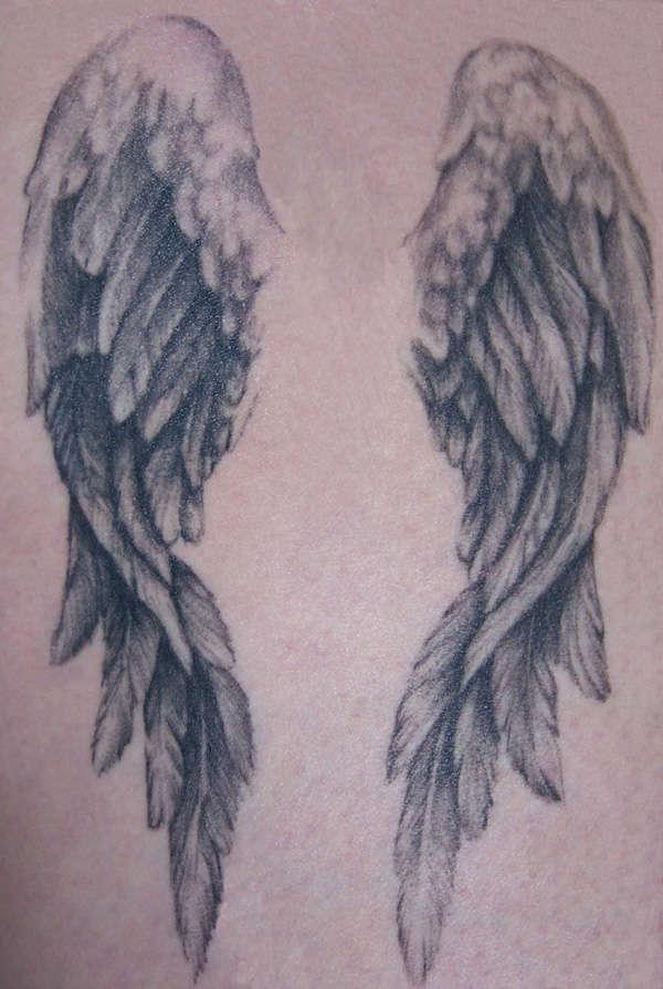 wings tattoos photo - 23