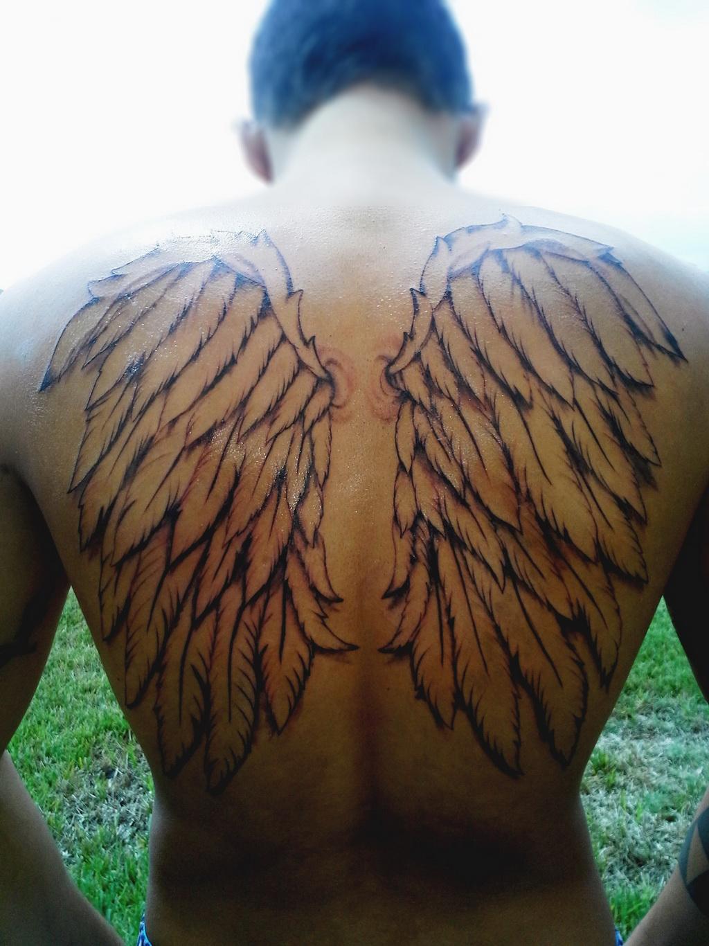 wings tattoos photo - 28