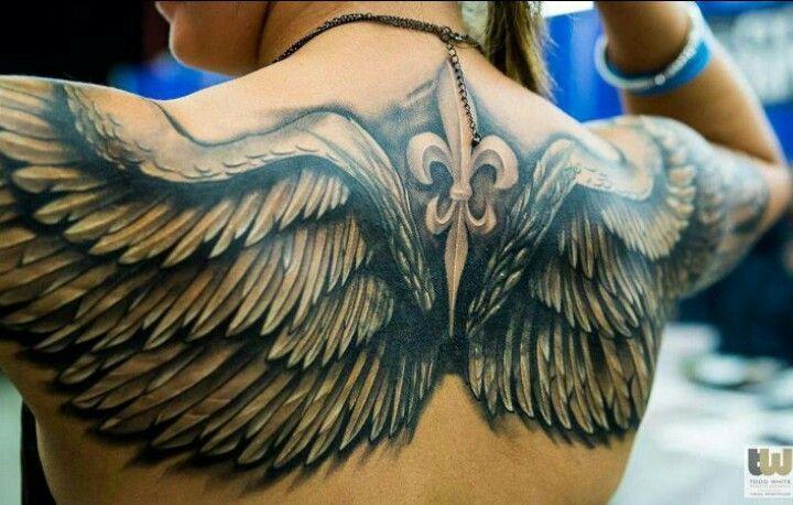 wings tattoos photo - 29