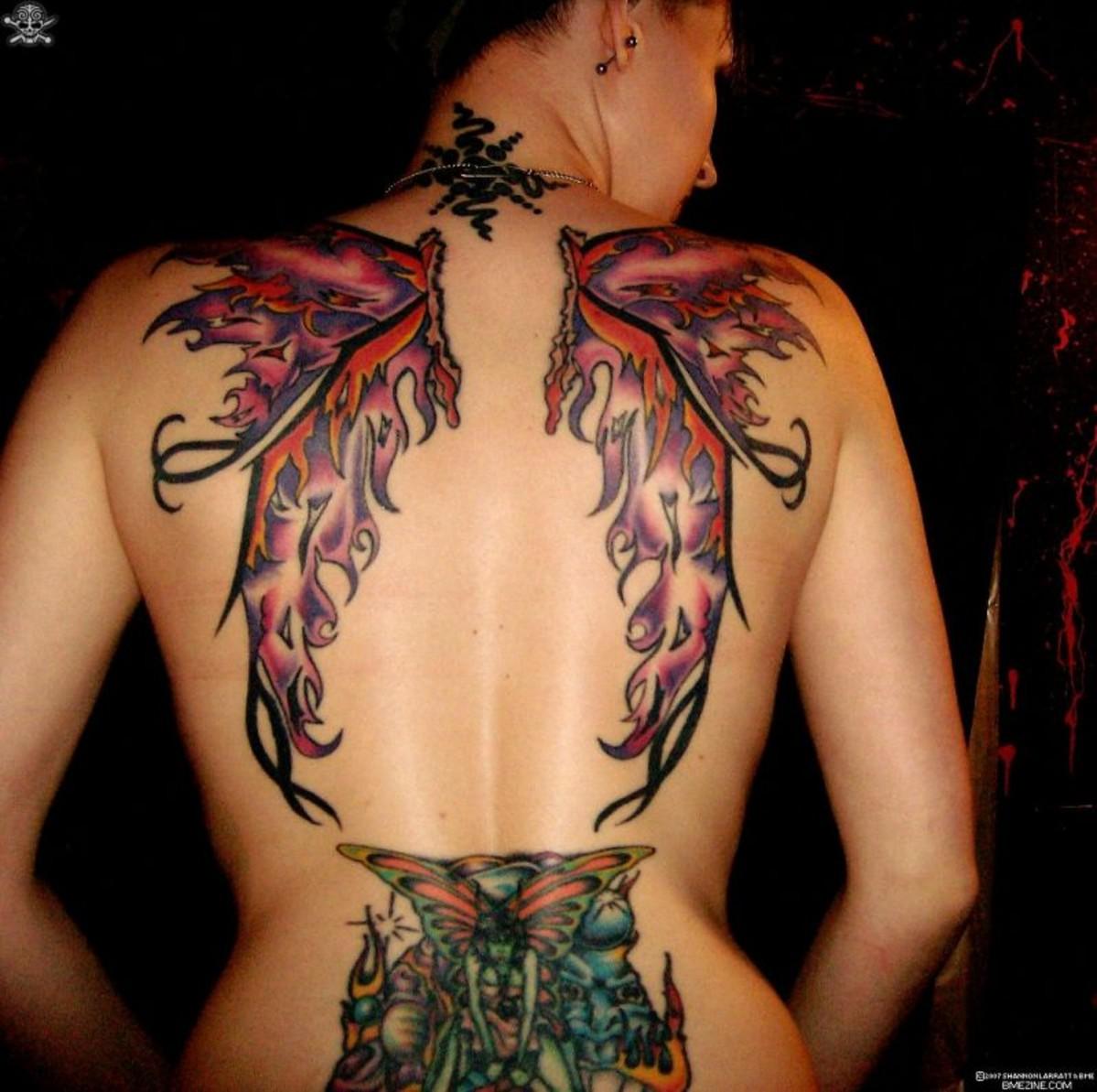 wings tattoos photo - 30