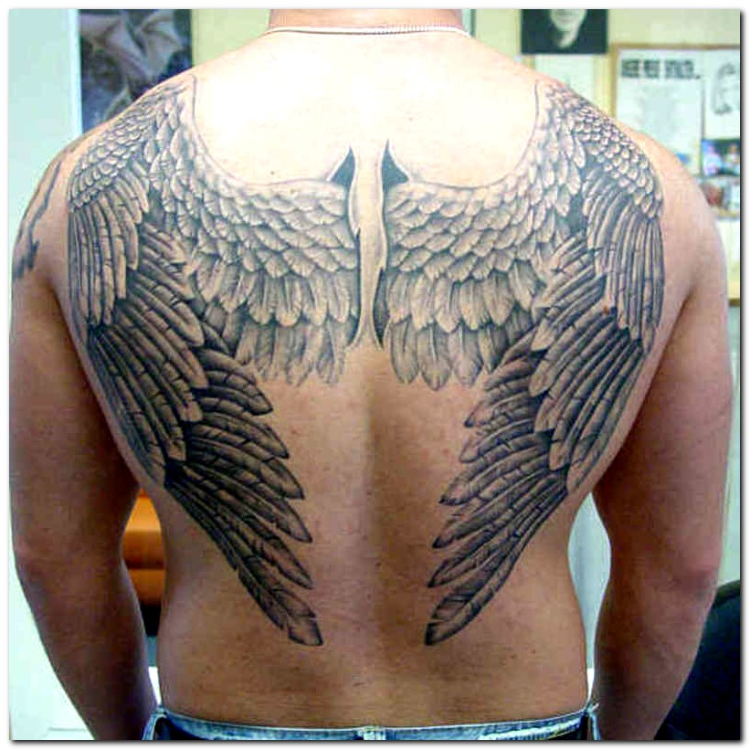 wings tattoos photo - 4