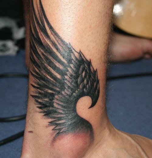 wings tattoos photo - 5