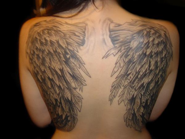 wings tattoos photo - 9