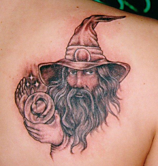 wizard tattoos photo - 1
