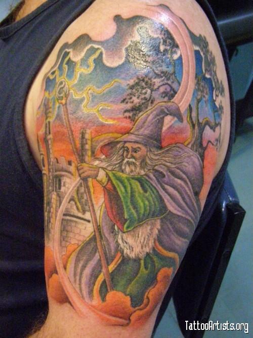 wizard tattoos photo - 13