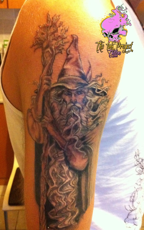 wizard tattoos photo - 14