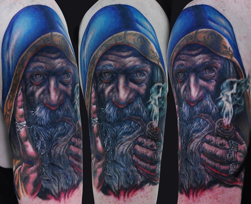 wizard tattoos photo - 15