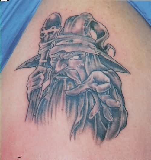 wizard tattoos photo - 17