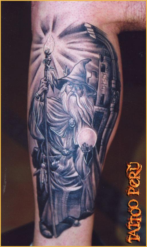 wizard tattoos photo - 2