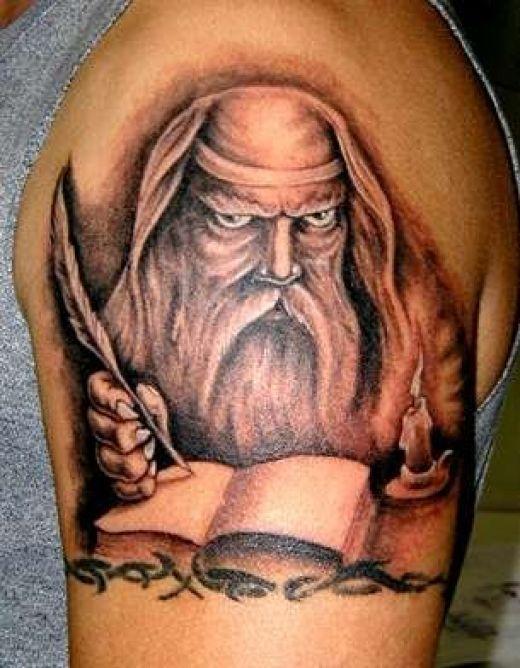 wizard tattoos photo - 20