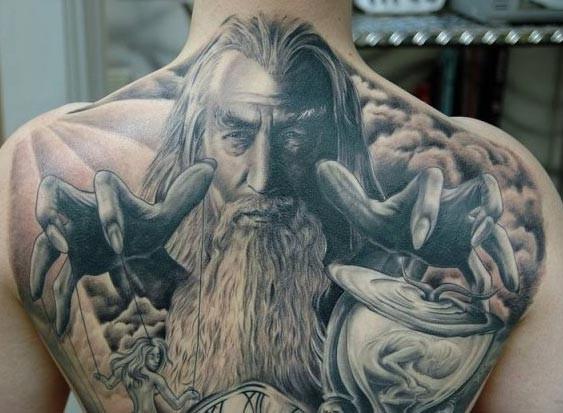 wizard tattoos photo - 21