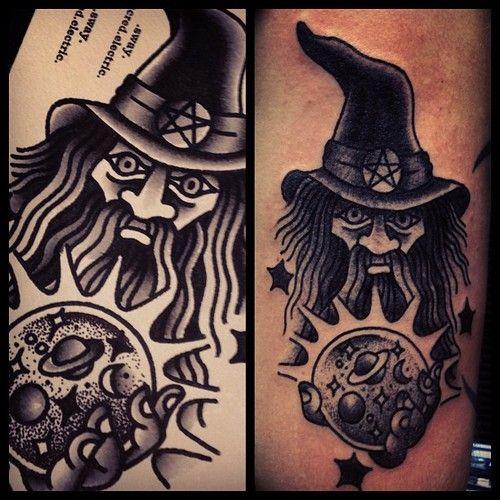 wizard tattoos photo - 22