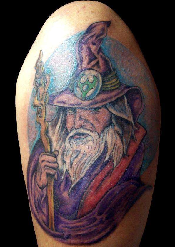 wizard tattoos photo - 3