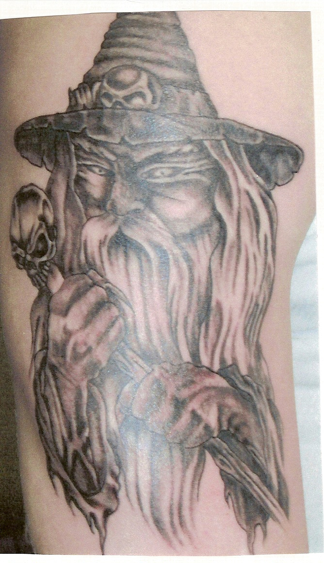 wizard tattoos photo - 4