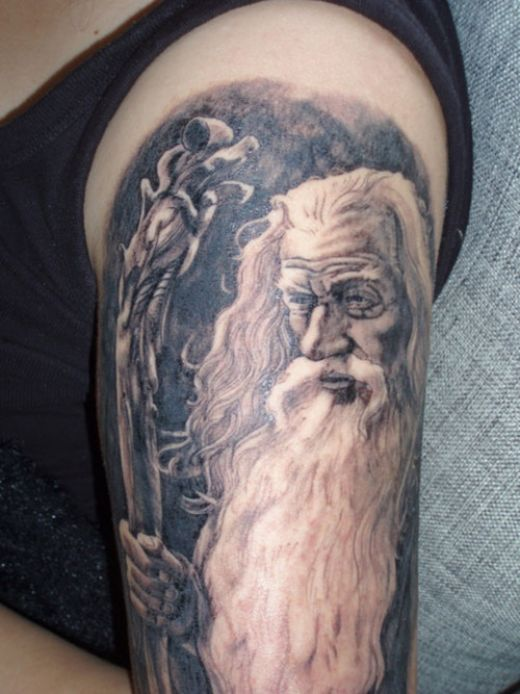 wizard tattoos photo - 5